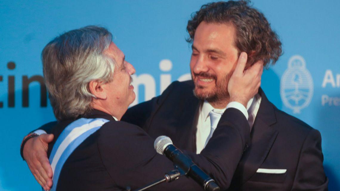 Alberto Fernández, Santiago Cafiero