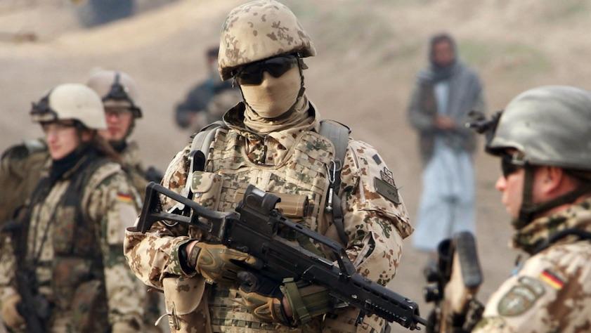 Soldados alemanes, ISAF