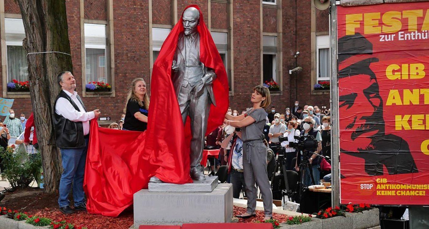 Estatua de Lenin en Gelsenkirchen, Alemania