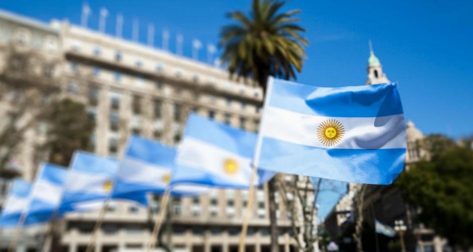 Argentina, banderas