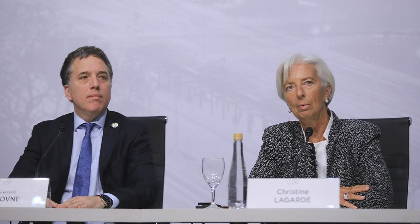 Nicolás Dujovne, Christine Lagarde