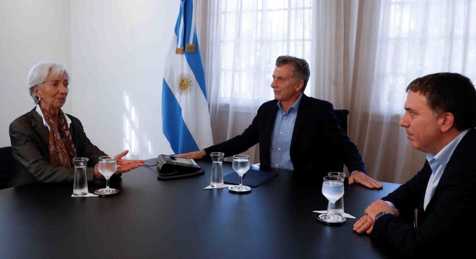 Nicolás Dujovne, Lagarde, Macri