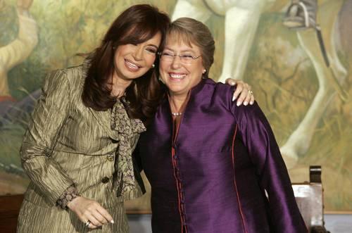Bachelet, Kirchner