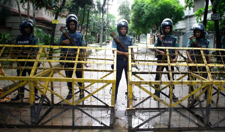 Bangladesh, policía