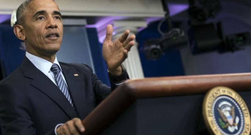 Obama, sello
