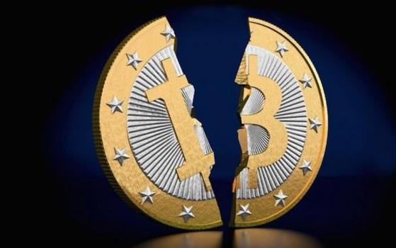Bitcoin, Quiebre