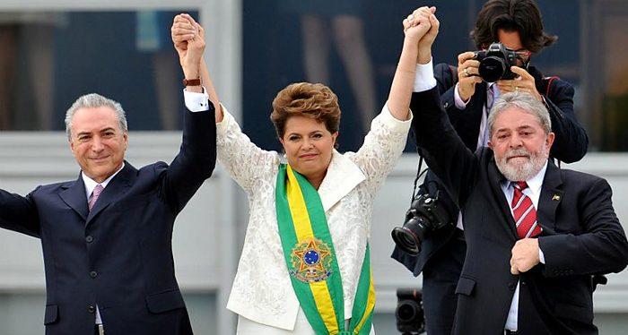 Temer, Lula, Dilma