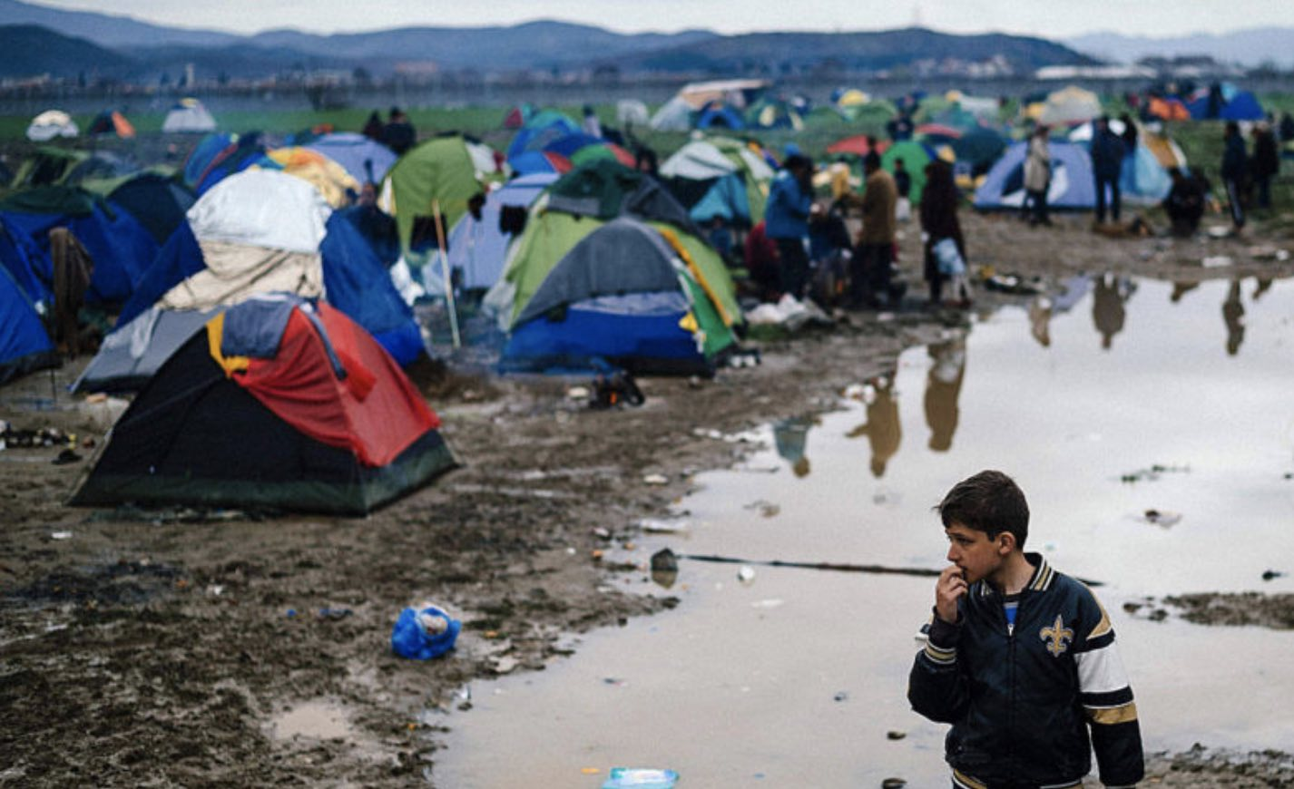 Lesbos, Campo de refugiados