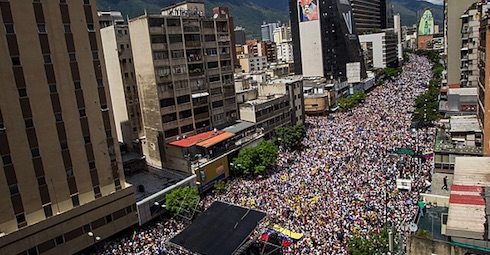 Caracas, toma