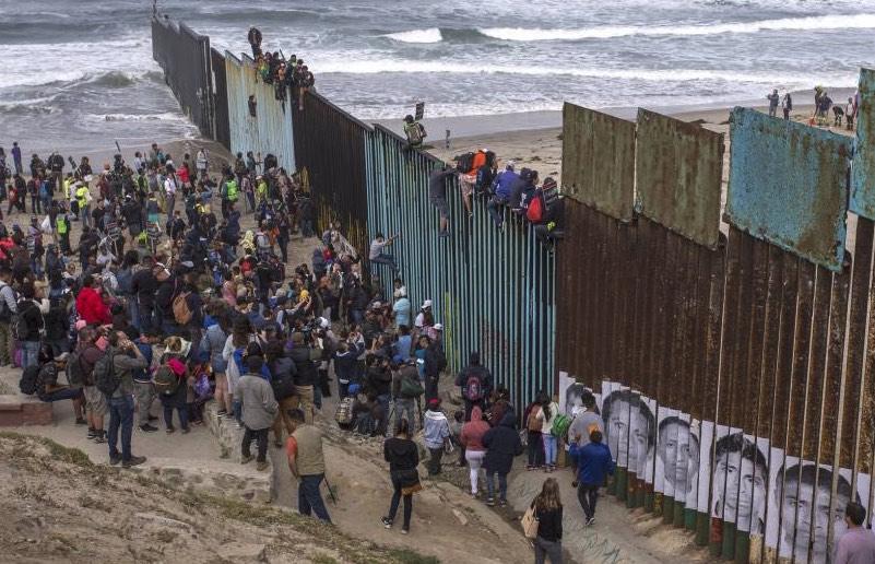 Caravana, inmigrates