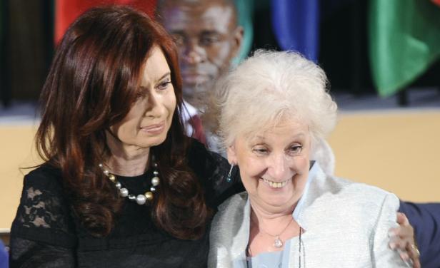 Carlotto, Cristina Kirchner
