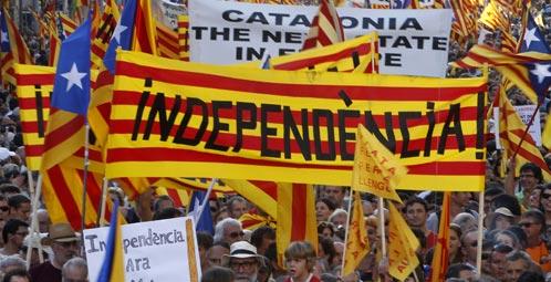 Cataluña, independentistas