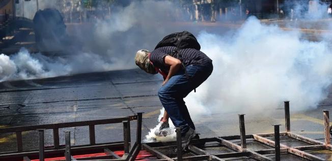 Violencia y agitación en Chile