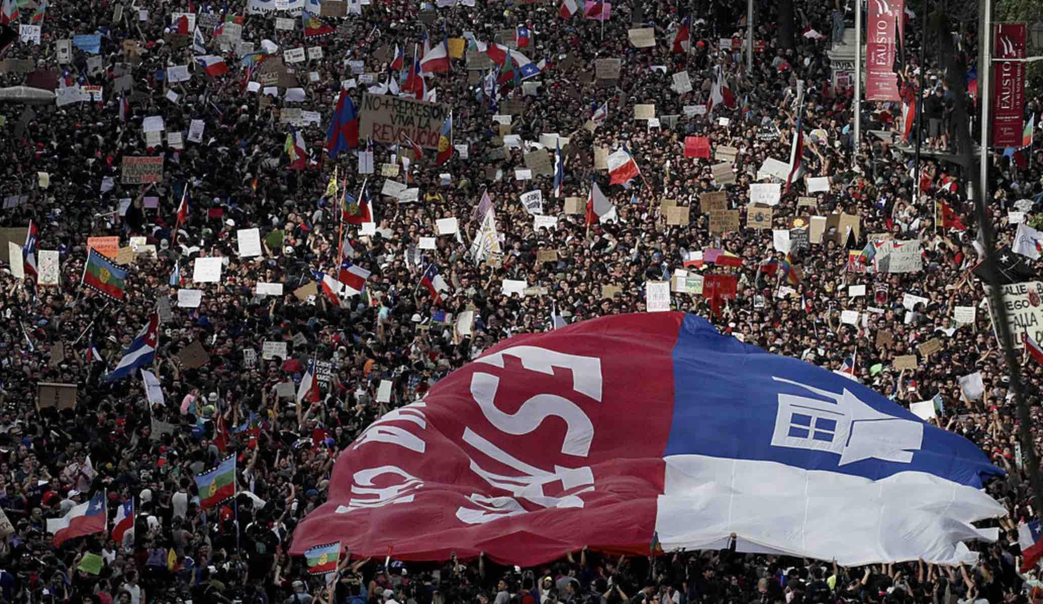 Protestas en Chile, Manifestaciones ciudadanas en Chile, Violencia