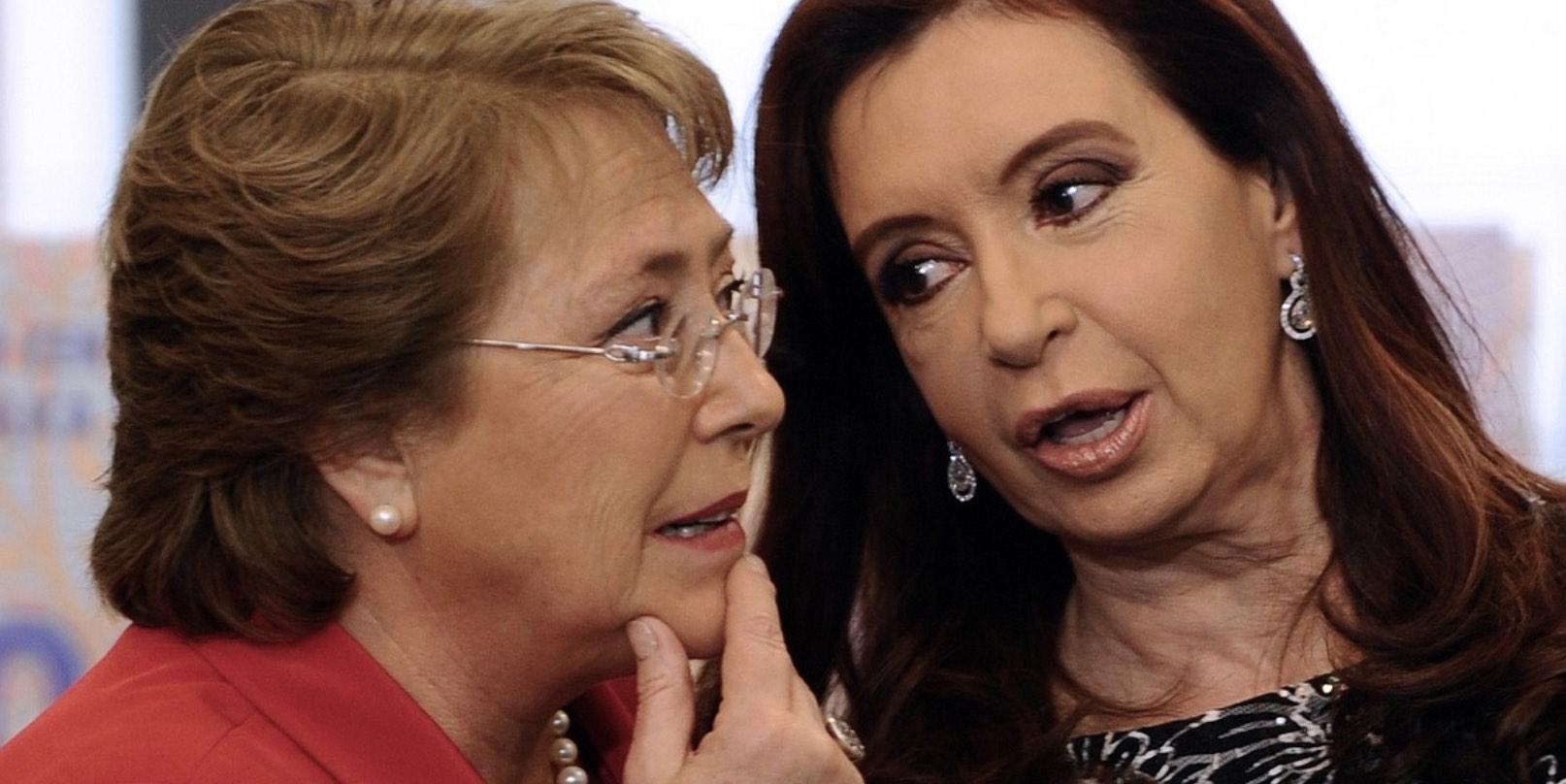 Bachelet y Kirchner, Populismo de izquierda