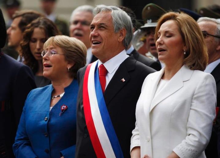 Sebastián Piñera, Michelle Bachelet