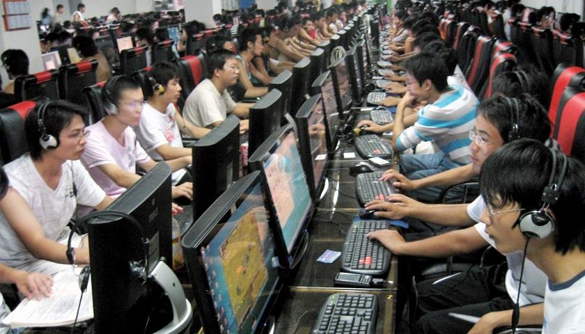 China, cibernautas