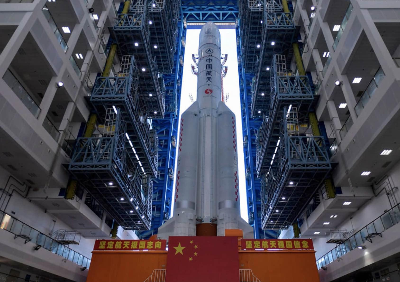 Satélites y lanzadores chinos