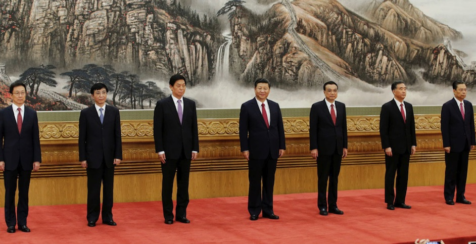 Politburó chino, integrantes