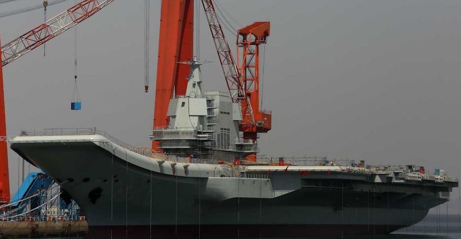 Fuerzas militares chinas, portaviones nuevo