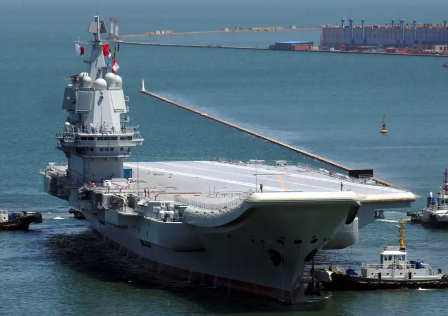Portaviones chino, Amenaza china en el Mar del Este, Mar del Sur de China