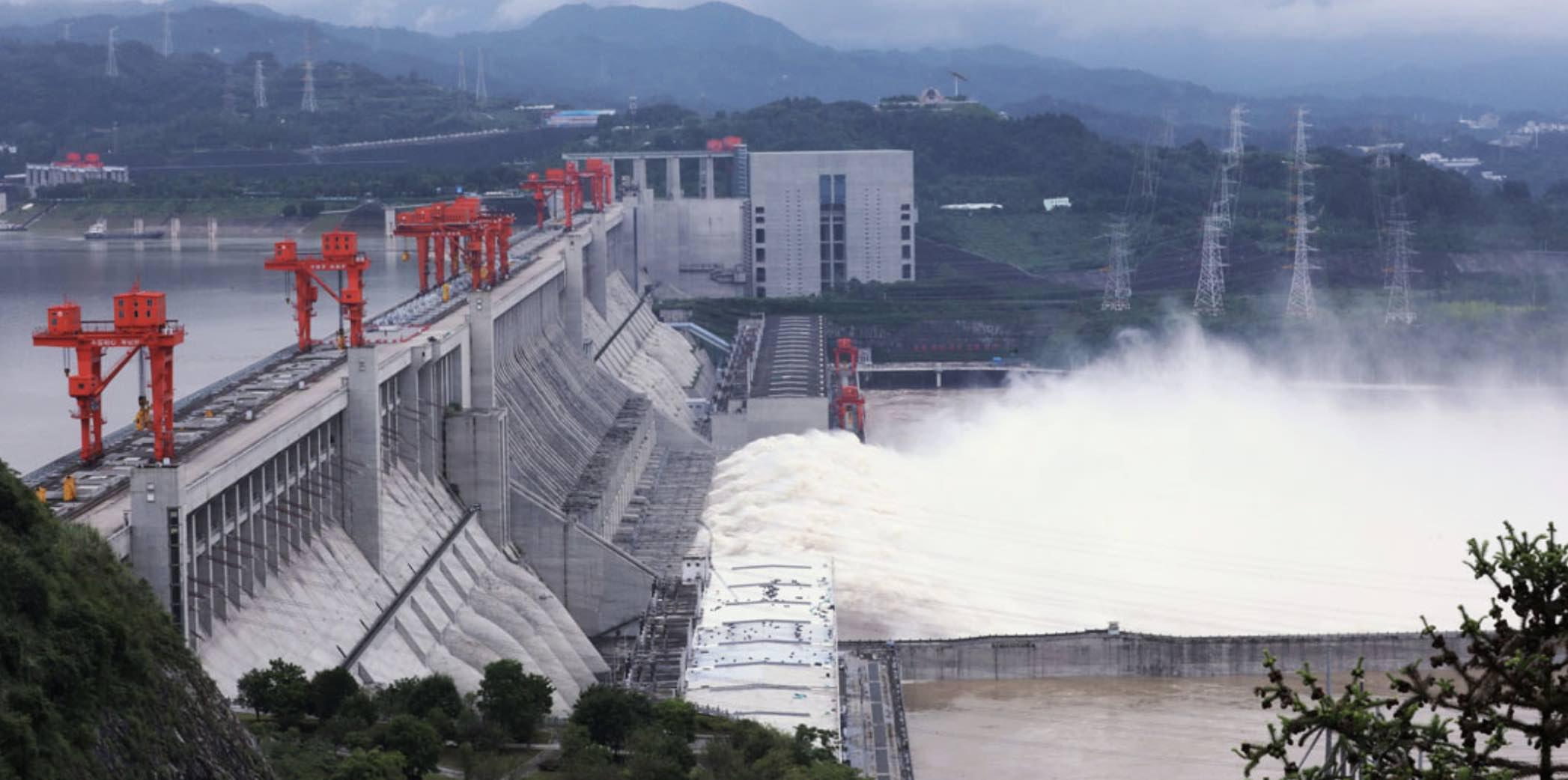 Río Yangtsé, Represa Tres Gargantas