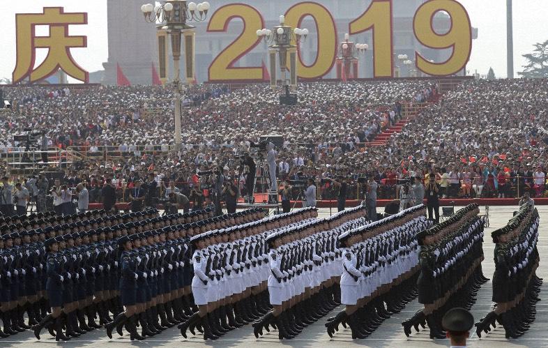 China, desfile militar, Setenta aniversario Revolución Cultural