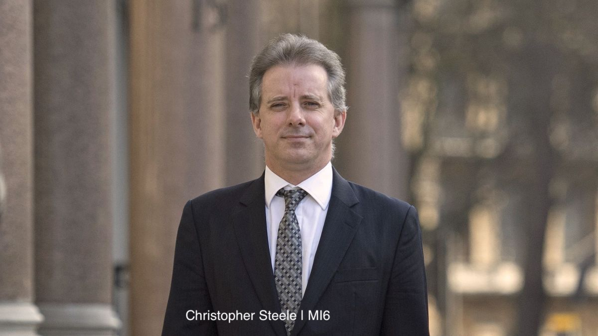 Christopher Steele, MI6