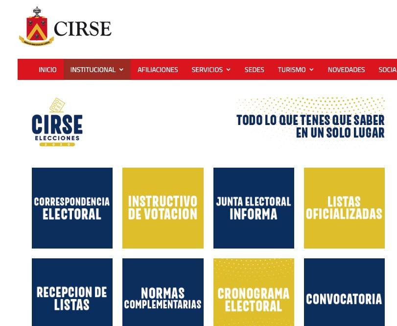 CIRSE, Ejército, Corrupción, Carlos Alberto Silva, Oficialismo, Fraude electoral