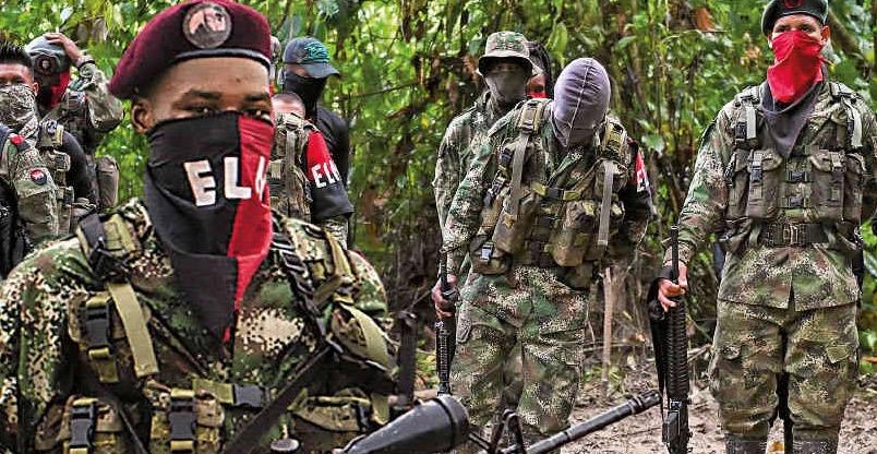ELN, Colombia, Narcoterrorismo, Grupo de Puebla, Terrorismo internacional