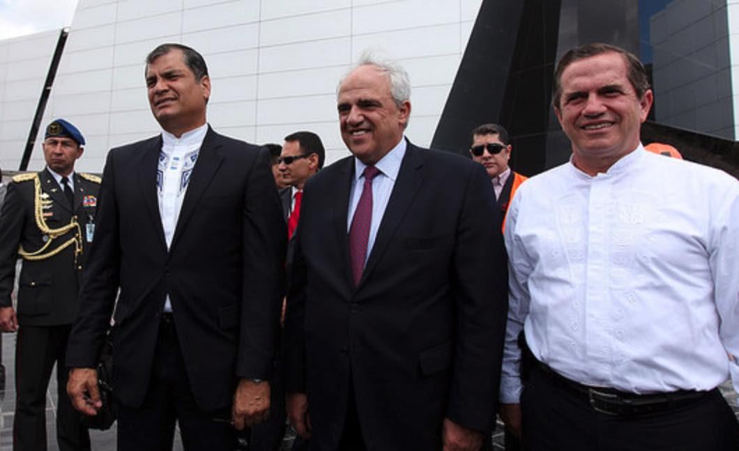 Ernesto Samper, Rafael Correa, Narcopolítica