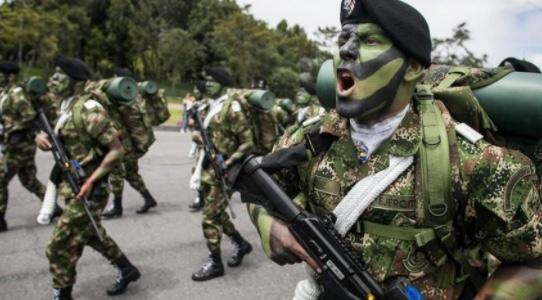 Colombia, Fuerzas Armadas, Ejército Nacional