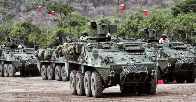 Colombia, FUTAM, Ejército