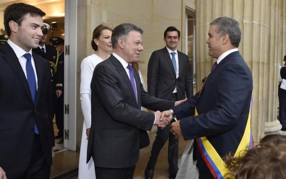Colombia, Iván Duque y Juan Manuel Santos