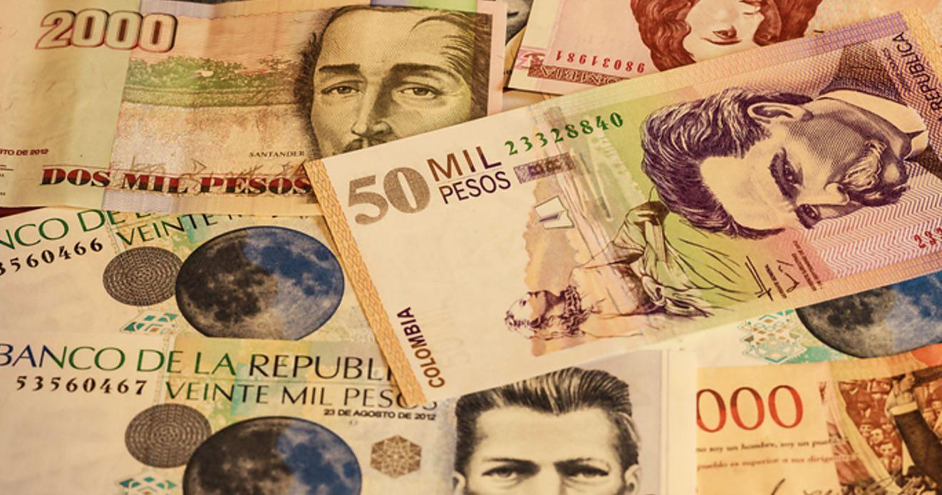 Peso colombiano, Colombia