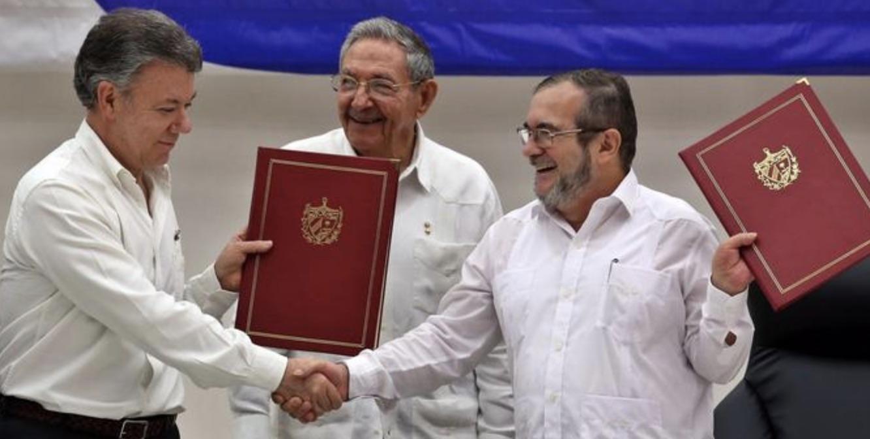 Colombia, Santos, FARC, Raúl Castro, Terrorismo, Cuba, La Habana
