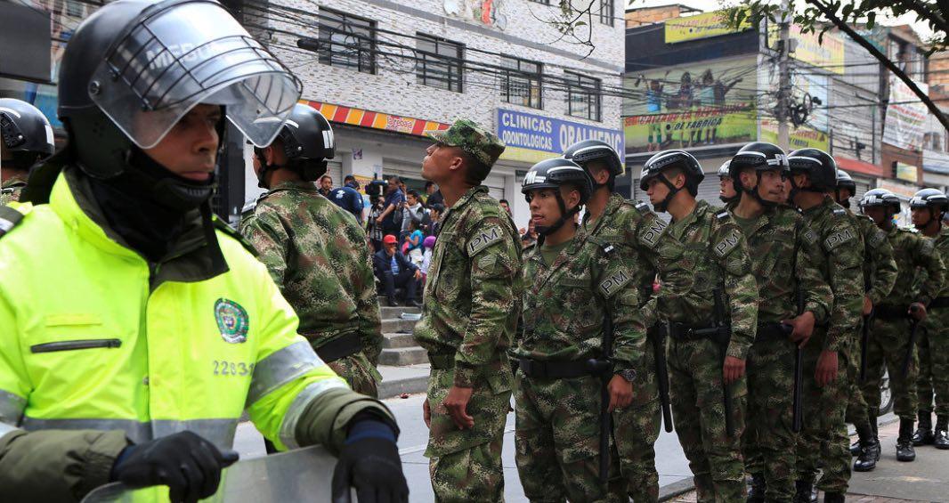 Colombia, FARC, terrorismo, supermercado