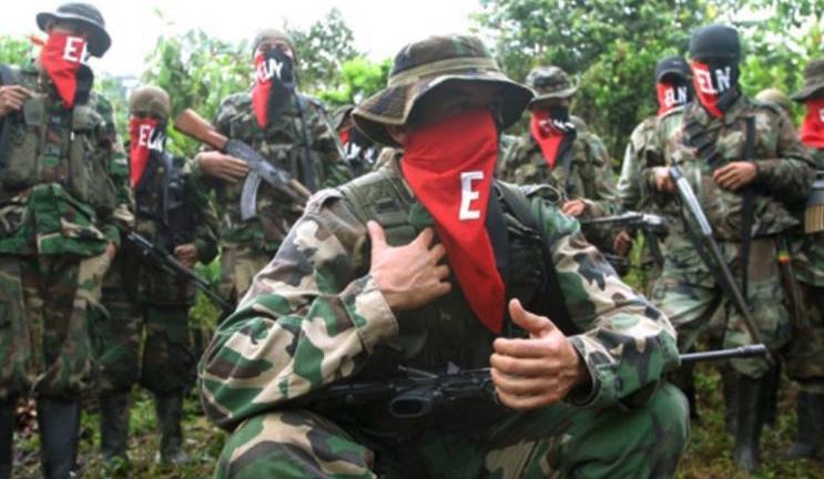ELN, Atentado en Aravena, Colombia, Ejército Nacional de Colombia