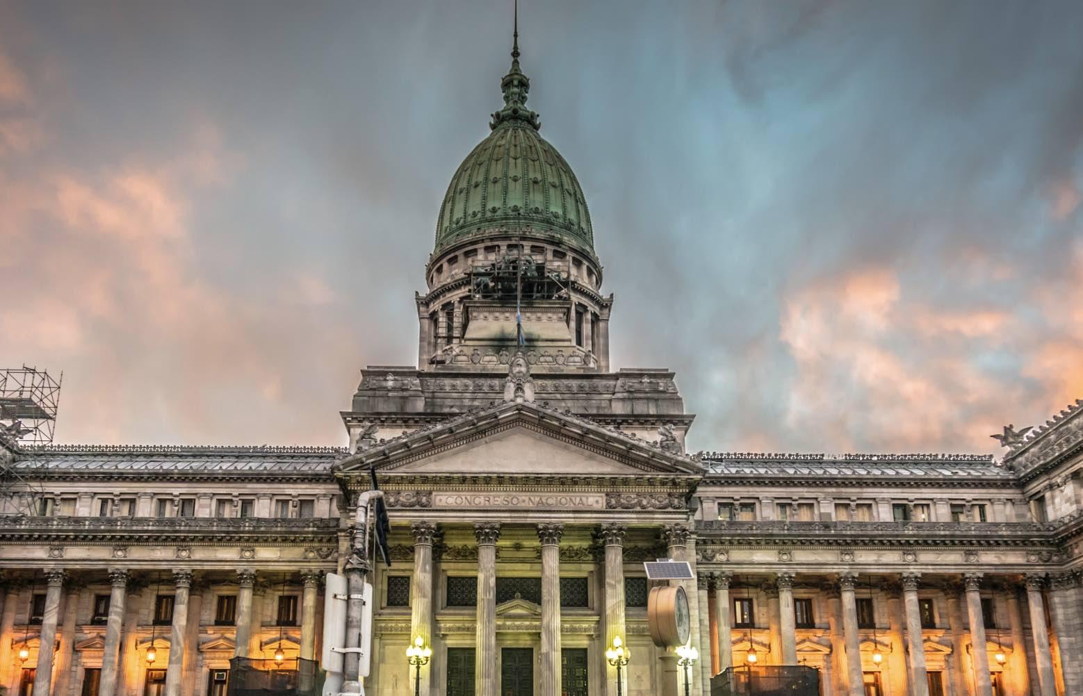 Congreso argentino, Corrupción política