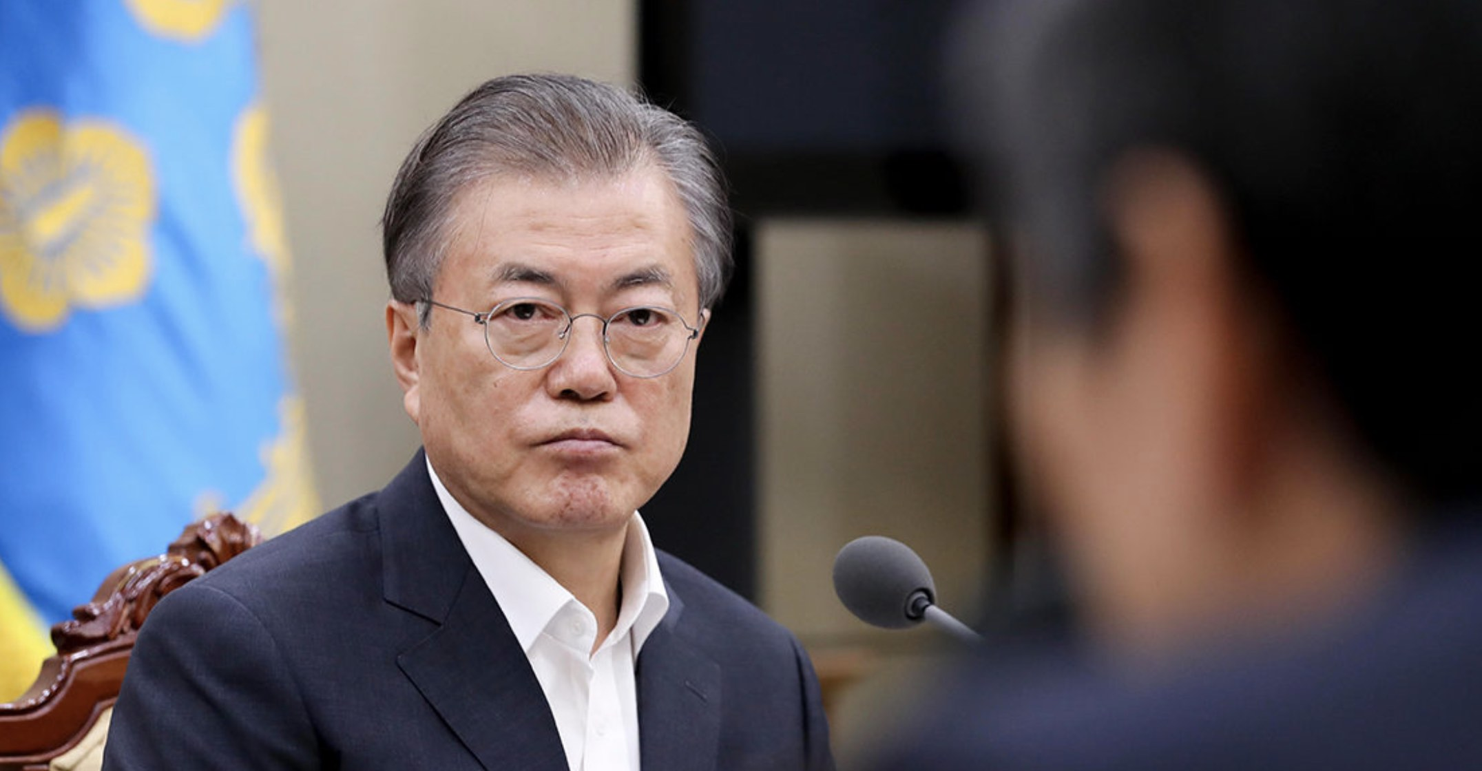 Moon Jae-in, Corea del Sur