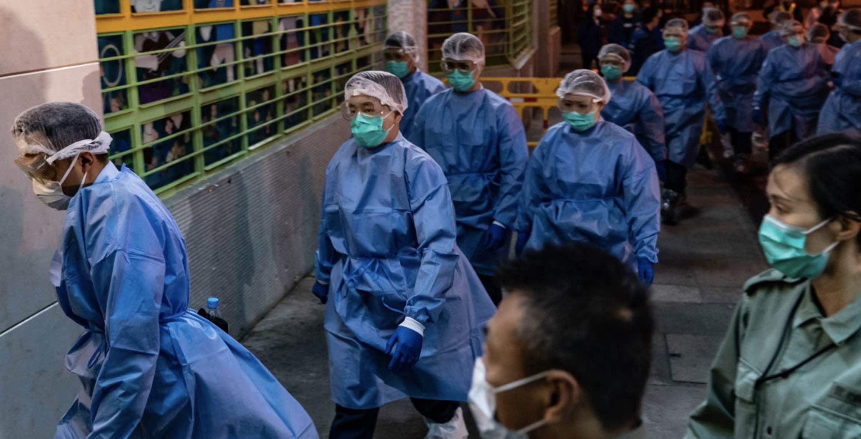 Coronavirus chino, Coronavirus de Wuhan, Propaganda china