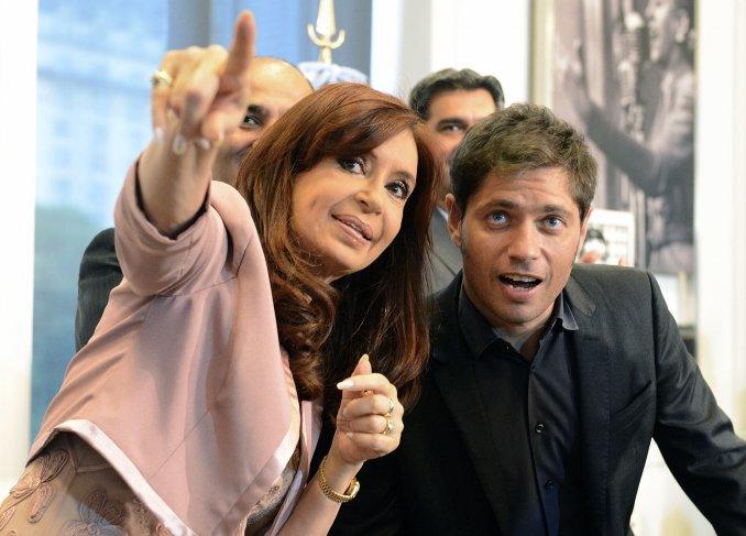 Axel Kicillof, Cristina Kirchner