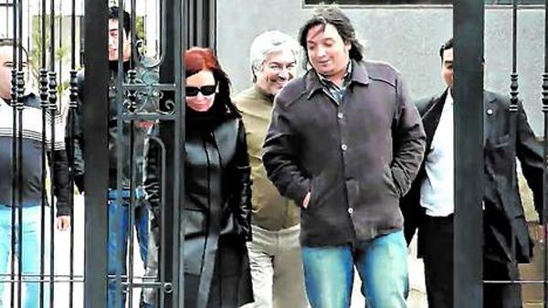 Cristina Kirchner y Lázaro Báez