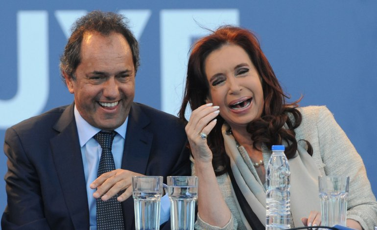 Cristina Kirchner, Daniel Scioli