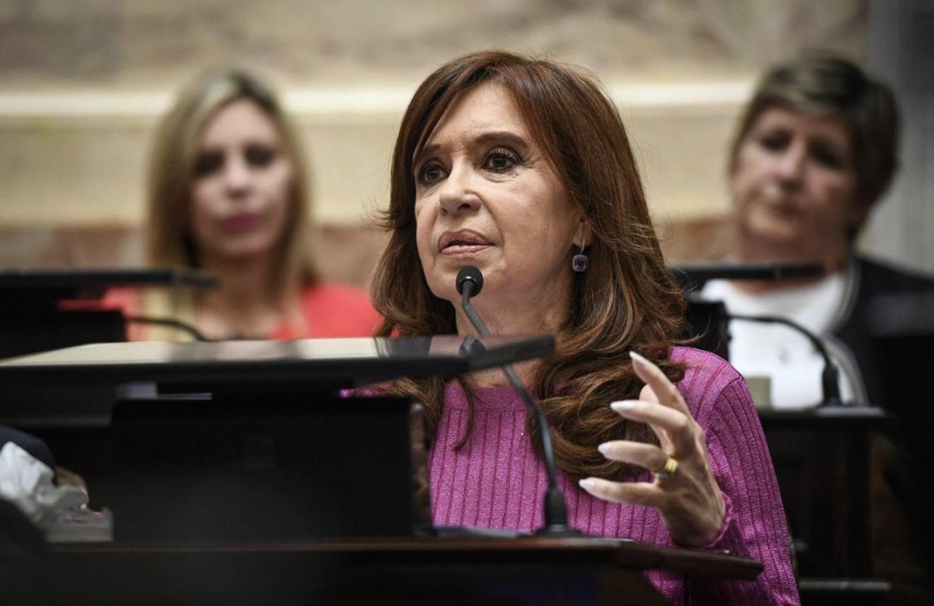 Cristina Kirchner, Senado, Corrupción
