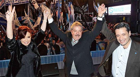 Víctor Santa María, Cristina Kirchner, Lula Da Silva, Corrupción