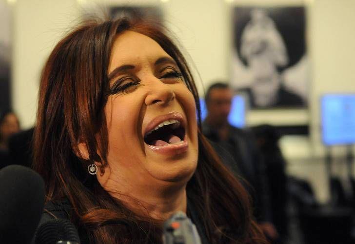 Cristina Kirchner, risa