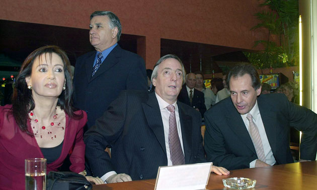CFK, Cristóbal López, Néstor