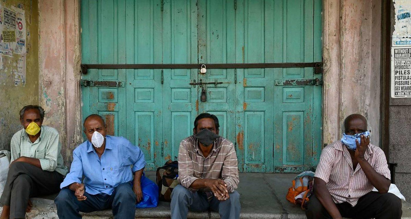 Cuarentena obligatoria, India, Colapso económico