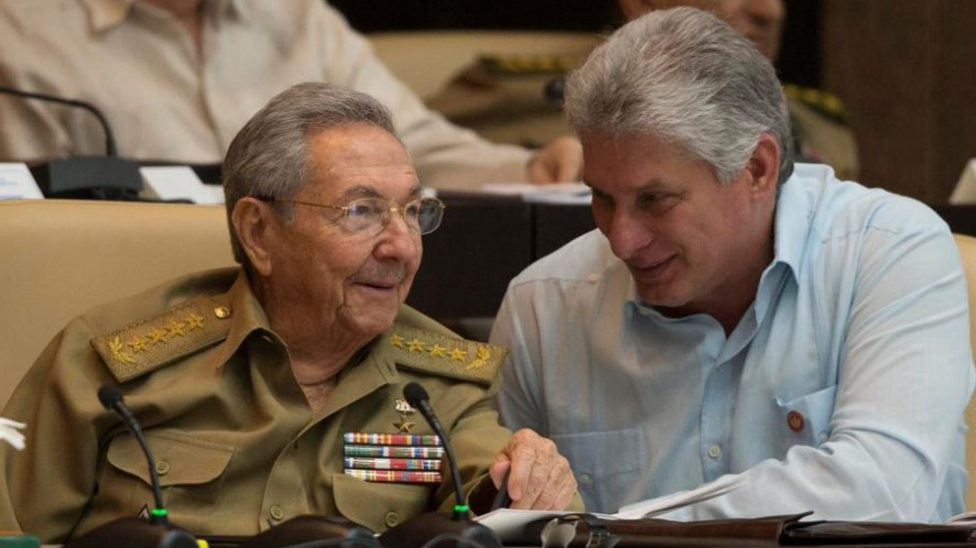 Raúl Castro, Miguel Díaz Canel, Dictadura, Cuba, La Habana